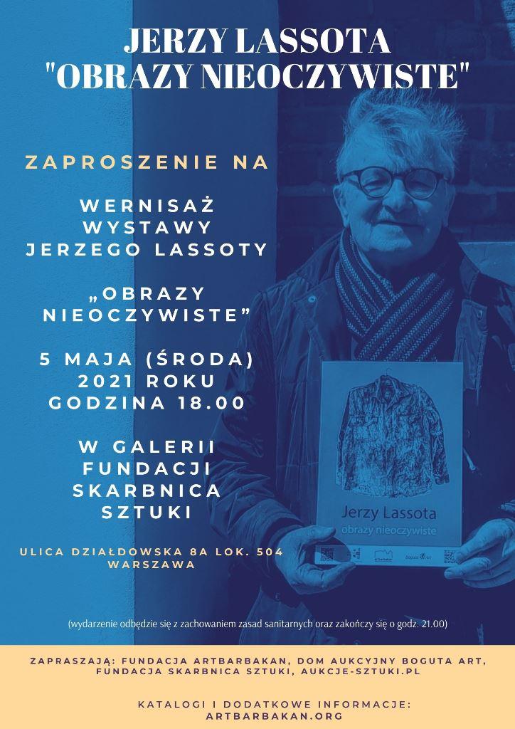 """Jerzy Lassota """"obrazy Nieoczywiste"""""""