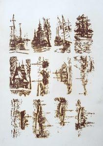 Grzegorz Paciorek, Zestaw Litografii
